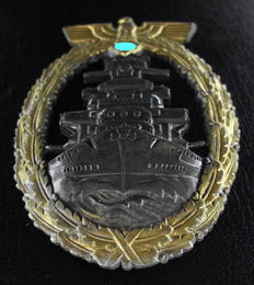 Navy War Badge, manufacturer R.S.&S.