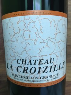 2005 Chateau La Croizille, Saint-Emilion Grand Cru – 6 bottles 75cl.