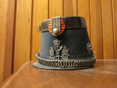Doctor's Military Shako M1865 army doctor second half 19th century