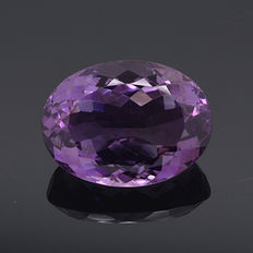 Purple amethyst - 20.57 ct