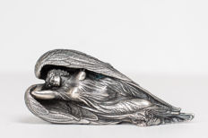 Ernst Fuchs - Guardian Angel (silver) - Guardian Angel (gold)