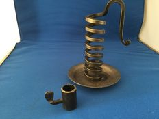 Design candle holder iron