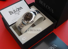Bulova lady luxury diamond watch