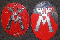 Gril Badge Motormännen - Sweden - Estimated around 1940
