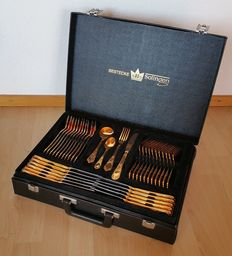Luxury Gold-Plated Cutlery - 23/24 carat - 1990