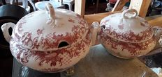 Two soup tureens Villeroy & Boch Valeria pattern