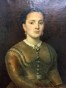 Unknown artist - Portrait of a noble woman