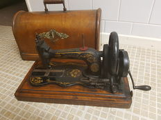 12K Singer vintage violin rare sewing machine