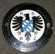 ADAC Südbayern Grill Badge - mint condition - never mounted