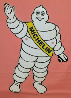 Bibendum - Michelin man - Replica late previous century