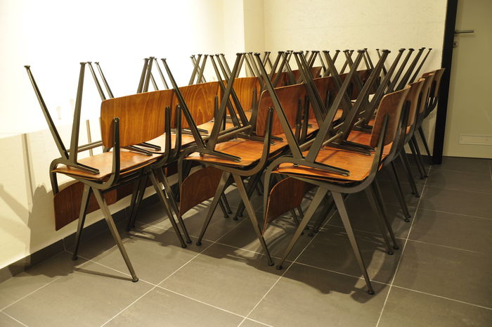 Marko U2013 32 Industrial Vintage School Chairs