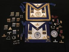 Large amount of Masonic mason estate clearance collection