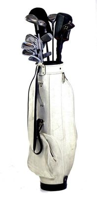 Golf Set with 12 Professional Golf Clubs mostly from the Knight Stratos Brand