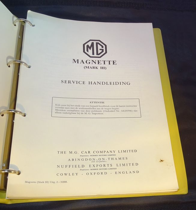 mg magnette mk iii service manual 250 pages catawiki rh auction catawiki com MG Magnette Coupe mg magnette workshop manual pdf
