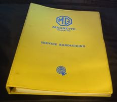 MG Magnette Mk. III Service Manual - 250 pages