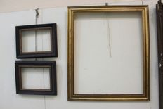 A group of six wooden frames - France, 20th C