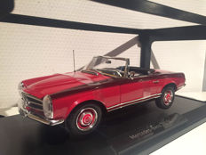 Norev - Scale 1/18 - Mercedes-Benz 230 SL 1969 Red