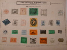 United States of America 1842 - Stamp Collection