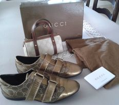 Gucci - trainers and bag
