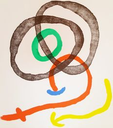 Joan Miró - Impression lithographique