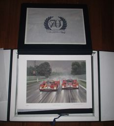 Excellent Lot - Autodromo di Monza 1922/1992 70th Anniversary - Michael Turner signed Prints