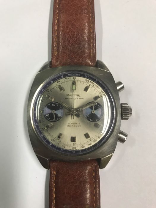 Puntual chronograph – Men's watch – 1960s