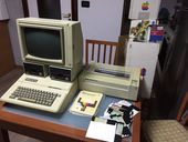 Check out our Complete Apple IIe System (Computer, Monitor, Floppy, Integrated Keyboard, Printer)