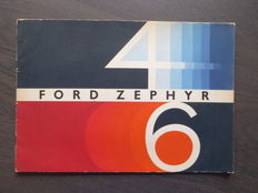 Brochure Ford Zephyr 4/6