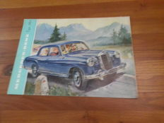 Mercedes-Benz 180 series brochure