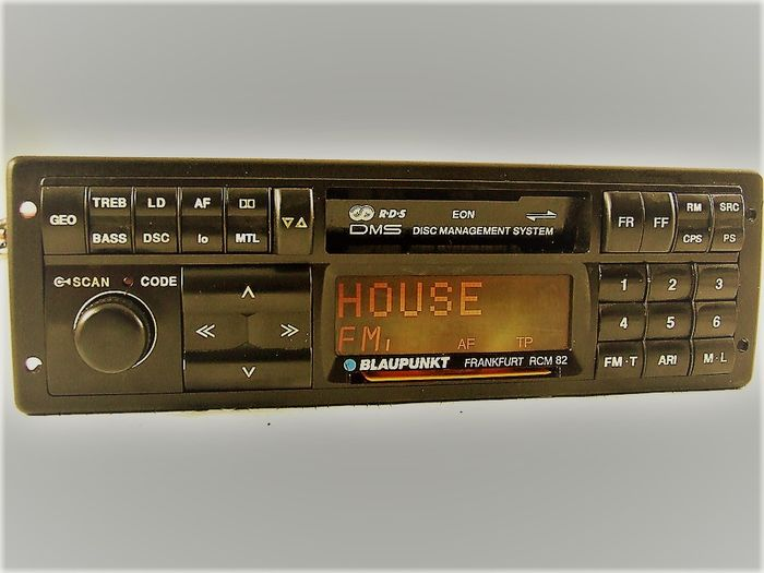 blaupunkt frankfurt rcm 82 classic top radio for. Black Bedroom Furniture Sets. Home Design Ideas