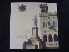 San Marino - Year pack 2006, including silver 5 Euro coin