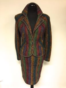 Missoni - 2 piece - blazer - skirt