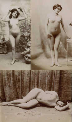 Unknown (19th century) - Nude studies