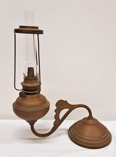 Copper Cosmos Brenner oil lamp