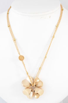 "Pasquale Bruni – Necklace ""Clover"", rose gold necklace – Length: 31.5 cm (adjustable)"