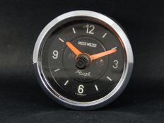 Vintage MotoMeter Kienzle Auto Car Clock Timepiece For Dashboard Fitting Classic Car 12 Volts Porsche VW