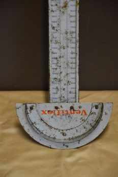 Vintage VENTIFLEX - drive belt measuring bar - 2nd half 20th century - measuring range of 480 to 2020 mm