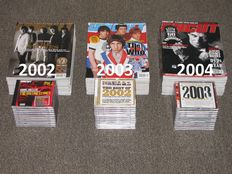 UNCUT Magazine / Complete Years - 2002 - 2003 - 2004 includes original free CD's