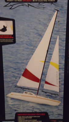 Proboat - scale 1/8 - Sailboat ENDEAVOR - 2014.
