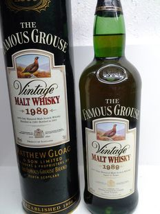 Famous Grouse 1989 Vintage Malt