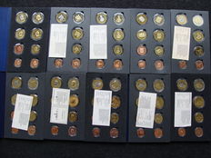 Europe – Probe sets 2002/2005 including Vatican (10 different ones)