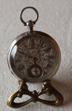 BRILLMAN & CO LONDON – Nr. 636 – silver pocket watch with chronometer escapement