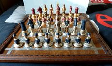 Chess - gold leaf and silver leaf