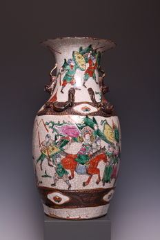 Nice large Nanking vase, China approx. 1900