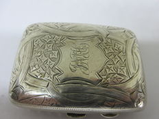 English Silver Cigarette Case by Duncan & Scobie - Fully Hallmarked to 1910