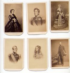 Various (19th c.) - Celebrities of the Royal house, Empress, Royal couple, Duke, Duchess, etc