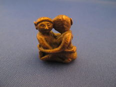 Amulet; Cast figurine Pra Ngang-2nd half of 20th century