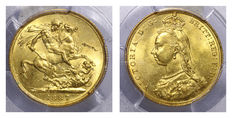 Great Britain - Sovereign 'Victoria' 1887 - Gold