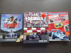 Lot: 3 Books - La Formule 1 and Grand prix - 1979/1996