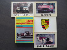 Lot: With 5 Books - 1980/1984